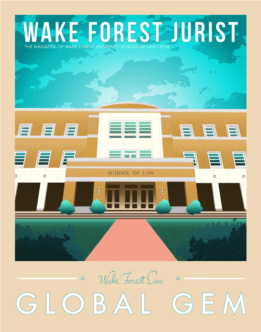 Read the 2018 issue of the Wake Forest Jurist magazine